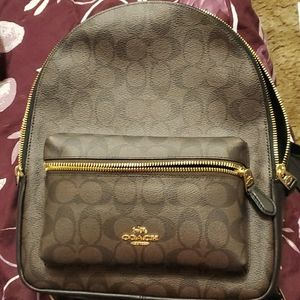Authentic Coach backpack.